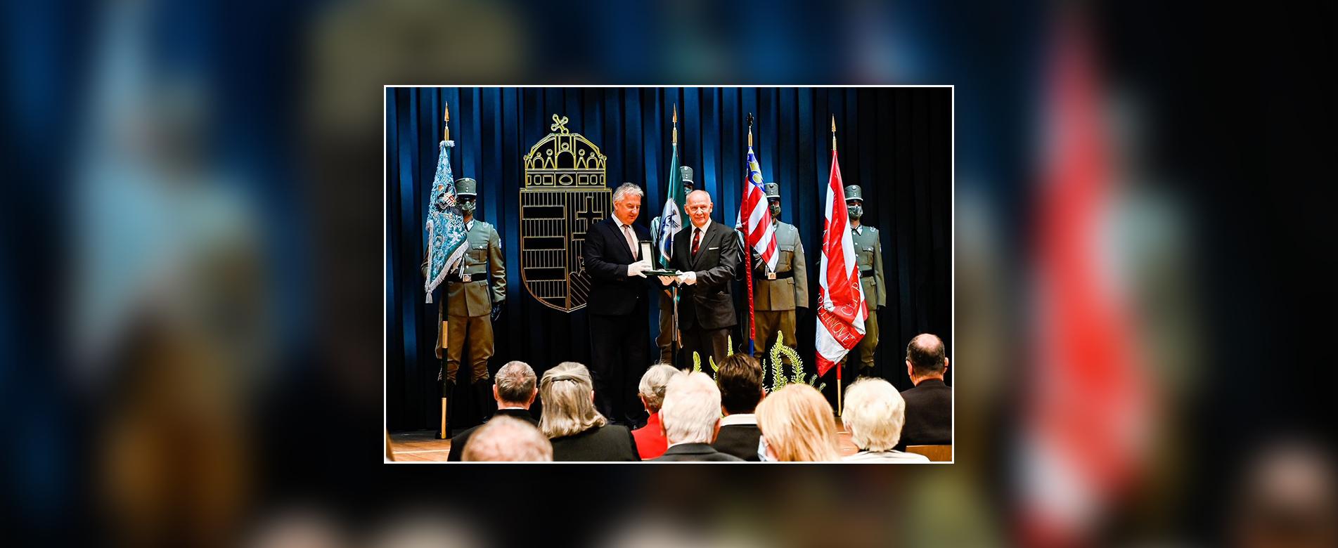 Átadták a március 15. alkalmából odaítélt kitüntetéseket